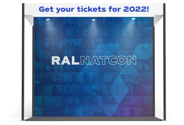 RAL NAT CON 2022 Sponsor Booth